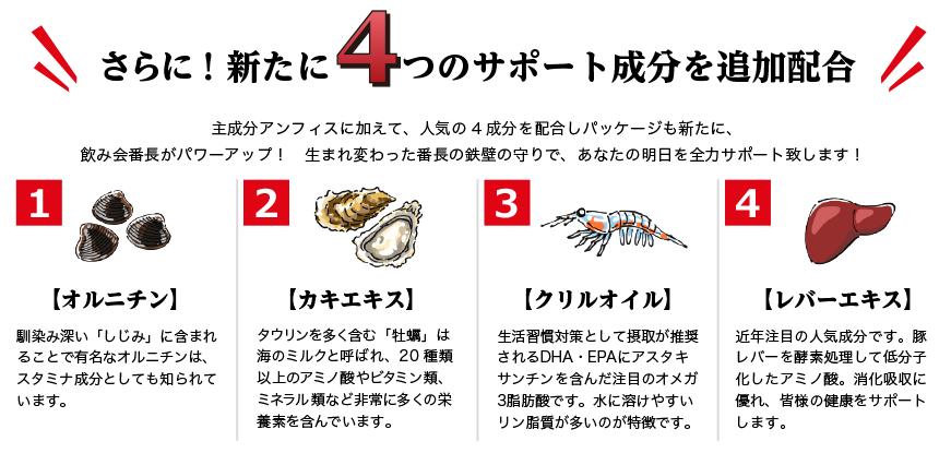 4つの新成分